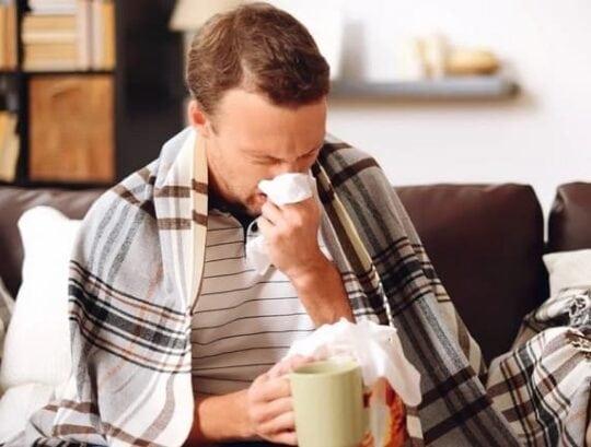 Простуда влияет на спермограмму